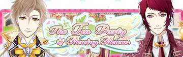 The Tea Party of Flowing Flowers Banner