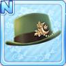 Akizuki Silk Hat Green