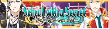 School with a Secret Event Banner