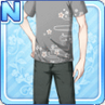 Stylish Sakura Shirt Gray
