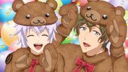 S2 ep6 fluffy bear Chizu Itsuki