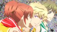 S2 ep11 Kanade Junya and Itsuki