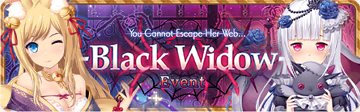 Black Widow Event Banner