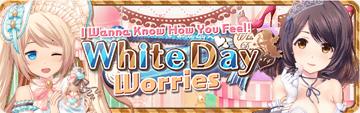 White Day Worries Banner