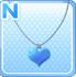 HeartPendantBlue