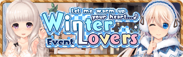 Winter Lovers Banner