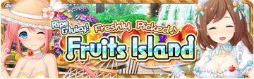 Fruits Island Banner