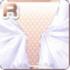 Silk Curtains White