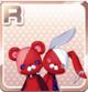 Punk Plushies Red