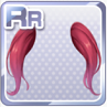 Voluminous Twin Extensions Red