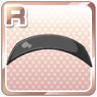 Enamel Hairband Black