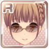 Frameless Glasses Brown