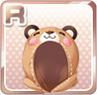 Animal Pajama Hood Bear