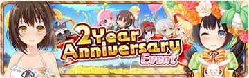 2 Year Anniversary Banner