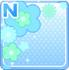Pop Flowers Blue