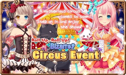 Roll Up, Roll Up Bizarre Circus Event Banner