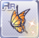 Butterfly Hair Acc Orange