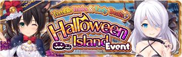 Halloween Island Event Banner