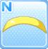 Enamel hairband lemon