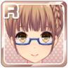 Half-Rim Glasses Blue