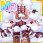 Fluffy Fuzzy Snow Doll