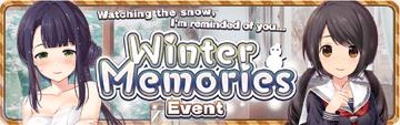 Winter Memories Banner