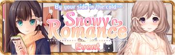 Snowy Romance Banner