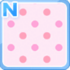 Dotted bg pink