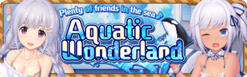 Aquatic Wonderland Banner