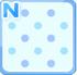 Dotted bg blue