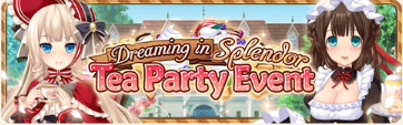 Tea Party Event Banner