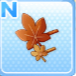 LeafHairpinBrown