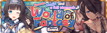 World of Fantasy Event Banner