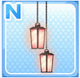 Candle Lamps Pink