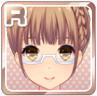 Half-Rim Glasses White