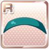 Enamel Hairband Green