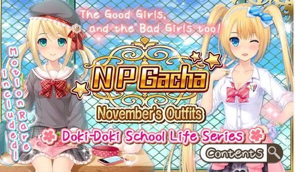 Doki-Doki School Life Series Gacha Banner