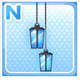 Candle Lamps Blue