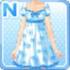 Flowered Dress Blue