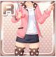 Cheery Rainwear Pink