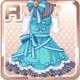 Ribbon Girl Blue