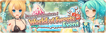 World Of Sweets Event Banner