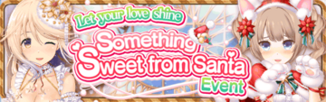 Something Sweet From Santa Event Banner