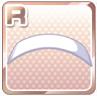 Enamel Hairband White