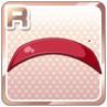 Enamel Hairband Red