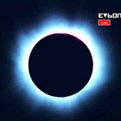 A High Quality Photo of EVB One Covering The August <b>11</b> <b>1999</b> Solar Eclipse (EVB One, August <b>11</b> <b>1999</b>)