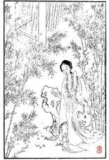 Lin Daiyu Hongloumeng Tuyong