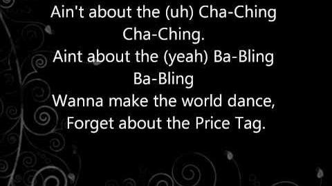 Price tag lyrics