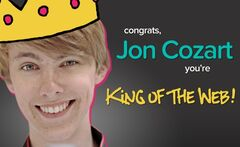 Jon King of the web