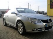 Used Volkswagen Eos 2006 Silver Convertible Petrol Manual for Sale in Hampshire UK